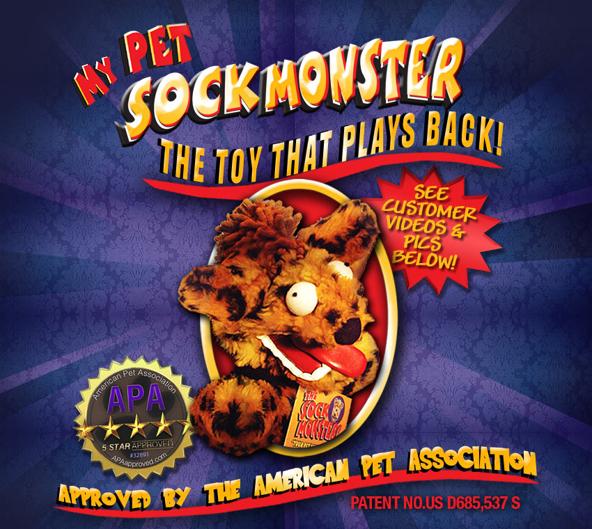 Pet Sock Monster